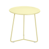 Fermob Cocotte Side Table in frosted lemon