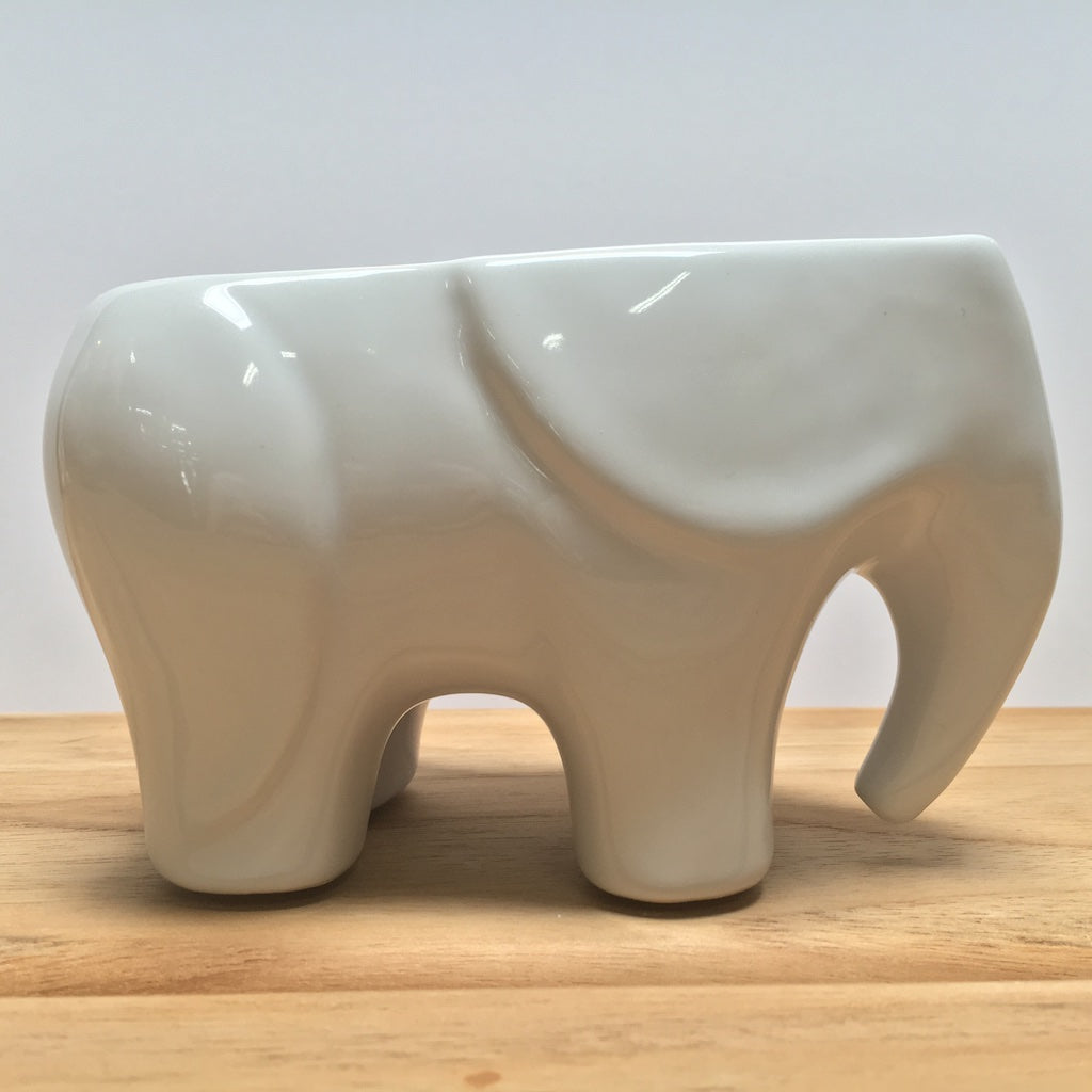 White Elephant Planter
