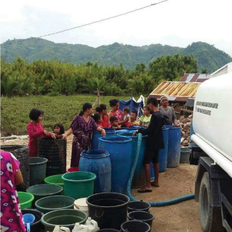 Water Crisis North Lombok