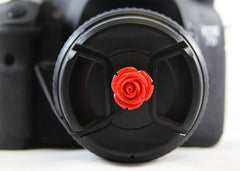 Flower Cap Saver Red