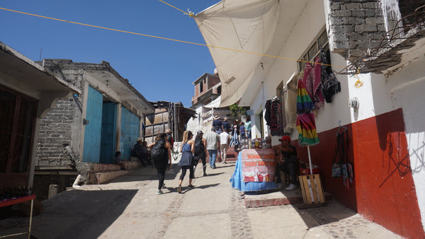 Shopping on Patzcuaro island