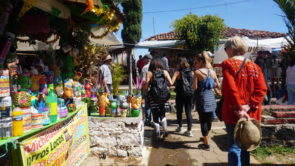 Patzcuaro Island shopping
