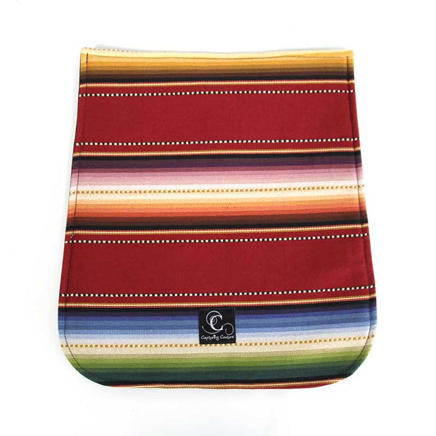 Zip|Switch Navajo Red Bag Flap