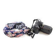 Women's Scarf Camera Strap | Bluebell | USA Made | Capturing Couture