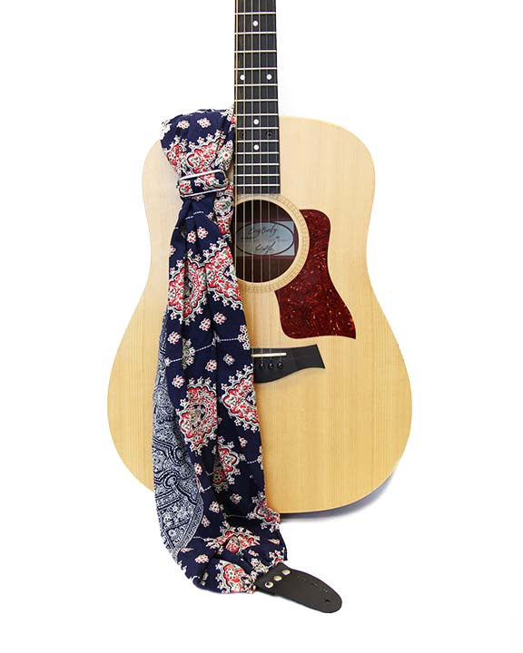 Bluebell Scarf Guitar
