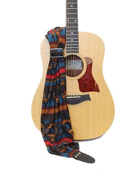 Theda Scarf Guitar Strap