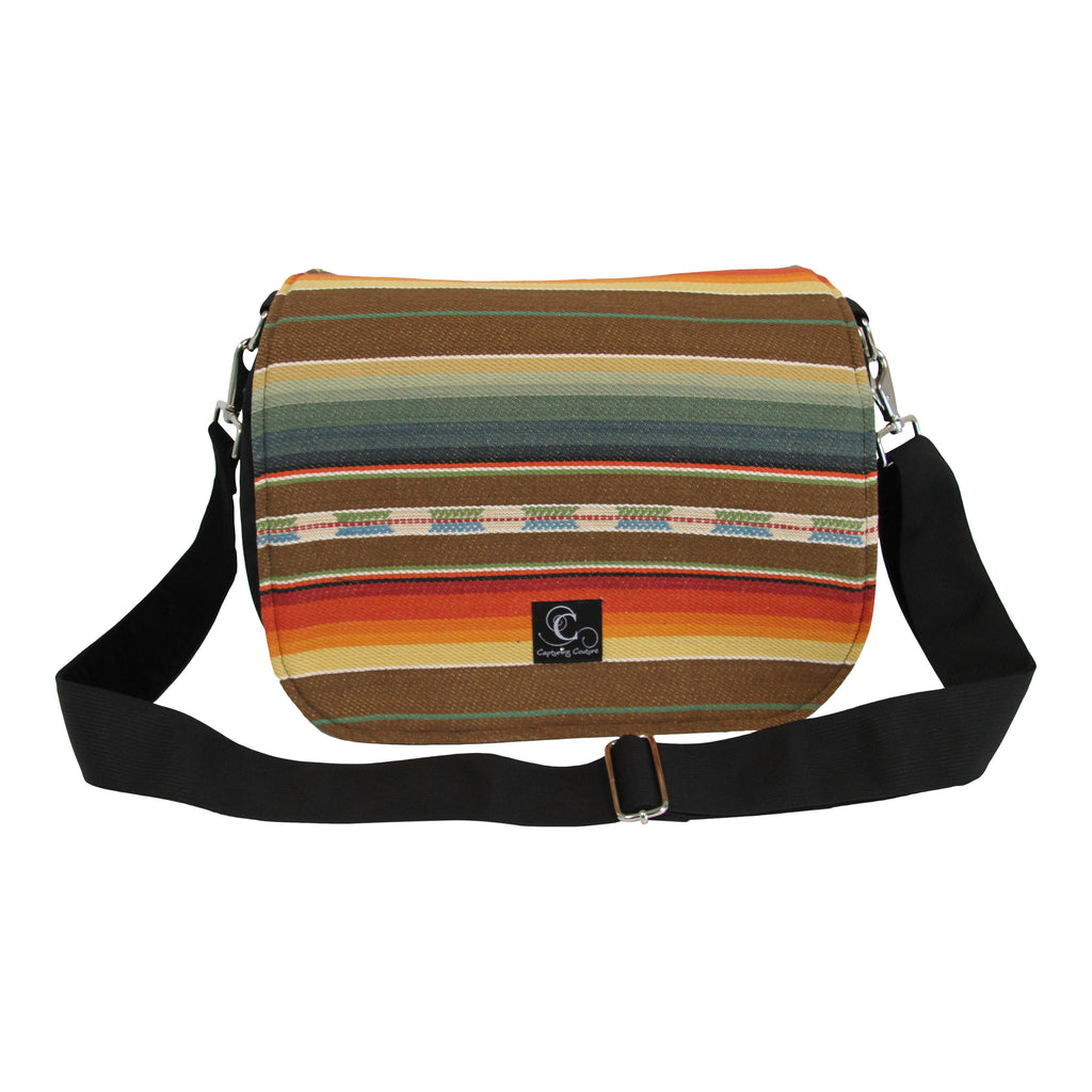 Indian Summer Camera Bag with Interchangeable Flaps
