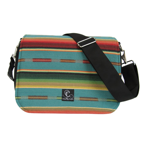 Dusty Road Camera Bag with Interchangeable Flaps