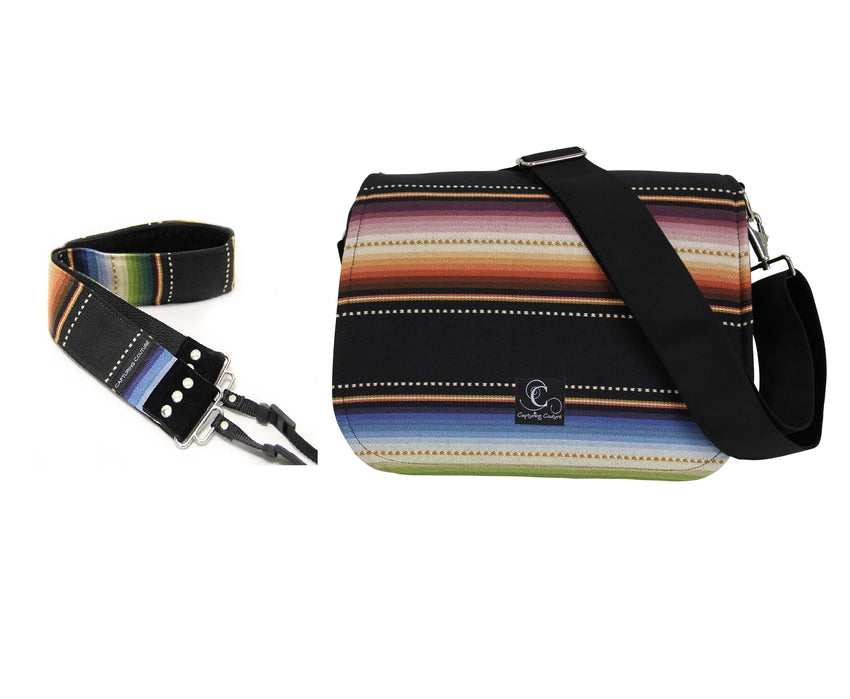 Navajo Black Bag|Strap Bundle