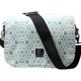 Serenity Sky Camera Bag with Interchangeable Flaps