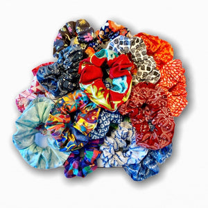 Scrunchies that match your mask!