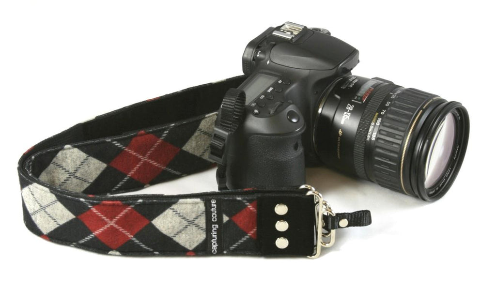 "The Joey Red 2"" Camera Strap"