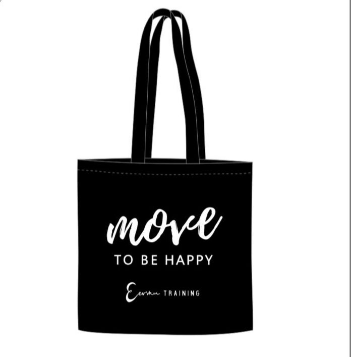 MOVE TO BE HAPPY -kangaskassi