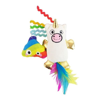 Unicorn catnip toy