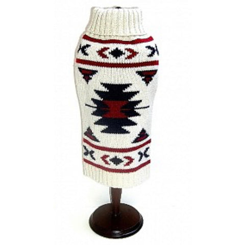 Aztec dog sweater