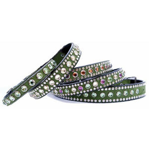 Fancy Crystal Bling dog collar