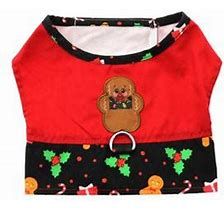Gingerbread boy harness vest