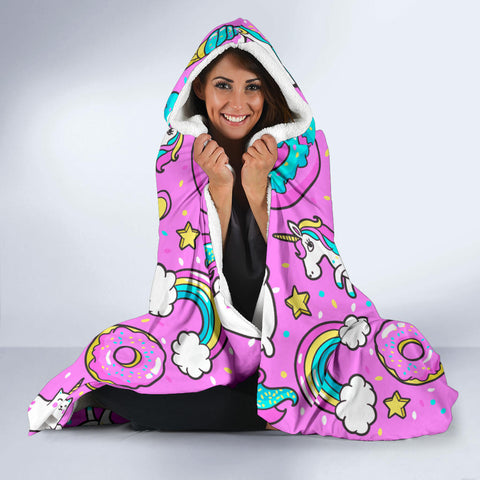 Image of Hooded Blanket Pattern