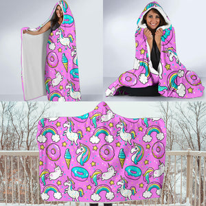 Hooded Blanket Pattern