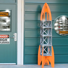 Rocket Rack Shelf / Play Structure
