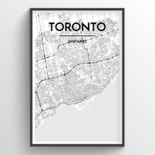 Load image into Gallery viewer, Toronto Map Prints