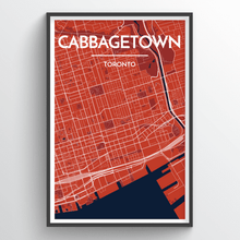 Load image into Gallery viewer, Toronto Neighbourhood Map Prints