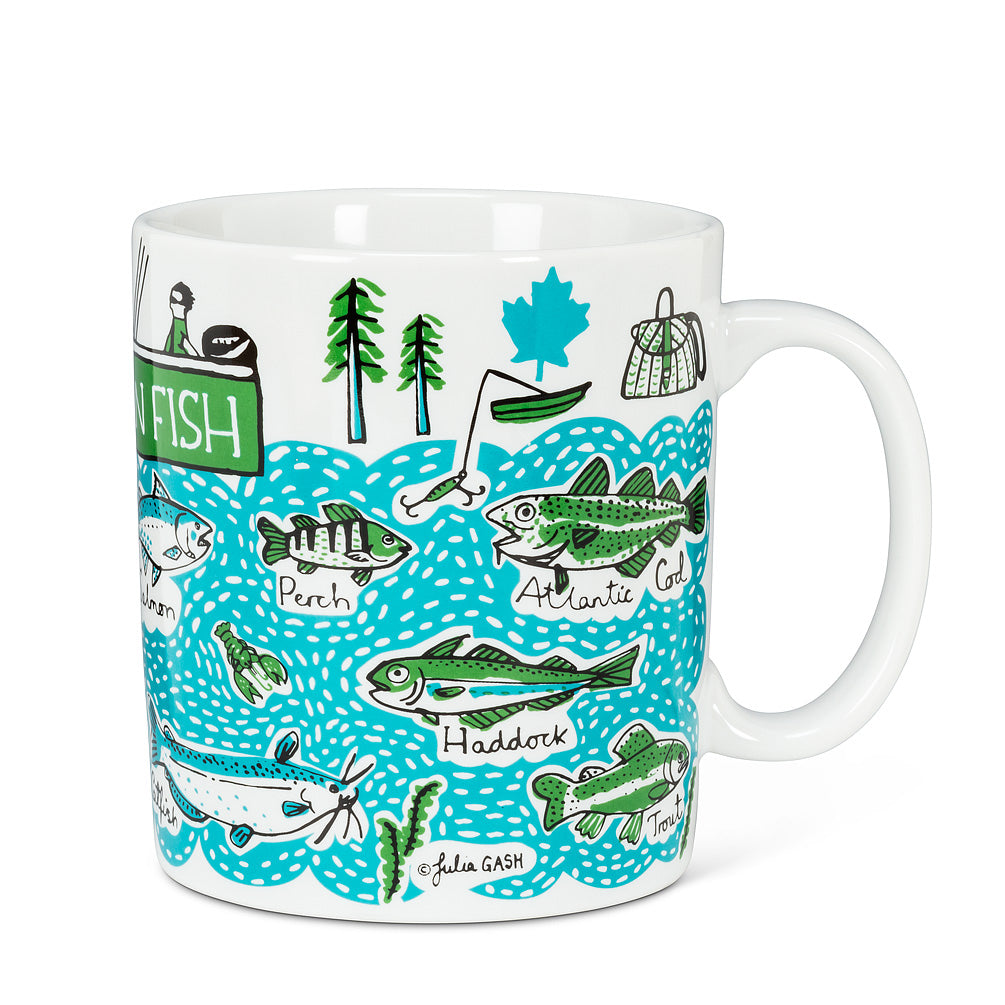 Canadian Fish Mug