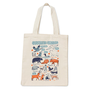 Canadian Wildlife Tote Bag