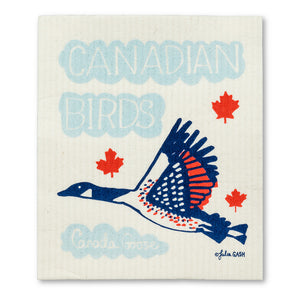 Canadian Birds Swedish Dishcloths