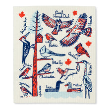 Load image into Gallery viewer, Canadian Birds Swedish Dishcloths