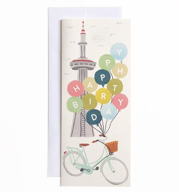 CN Tower Birthday Card