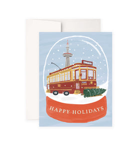 Vintage Streetcar Holiday Card Boxed Set