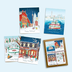 Assorted Toronto Historic Holiday Greeting Card Boxed Set by Made in Brockton Village
