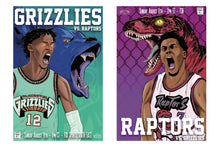 Load image into Gallery viewer, '95 Til Inifinity' Raptors/Grizzlies Prints