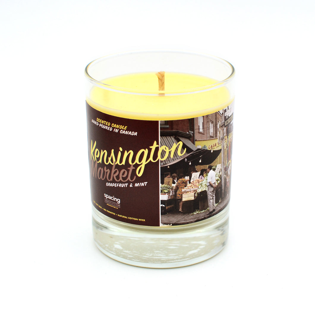 Toronto Scents: Kensington Market Candle (Grapefruit + Mint)