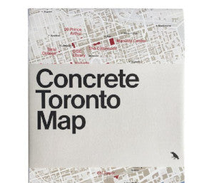 Concrete Toronto Map