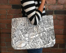 Load image into Gallery viewer, Toronto Lines Tote Bag