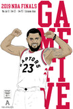 2019 NBA Finals Toronto Raptors Prints