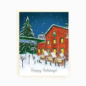 Assorted Holiday Greeting Card Boxed Set By Made in Brockton Village