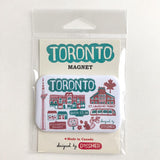 Cityscape Toronto Illustrated Items