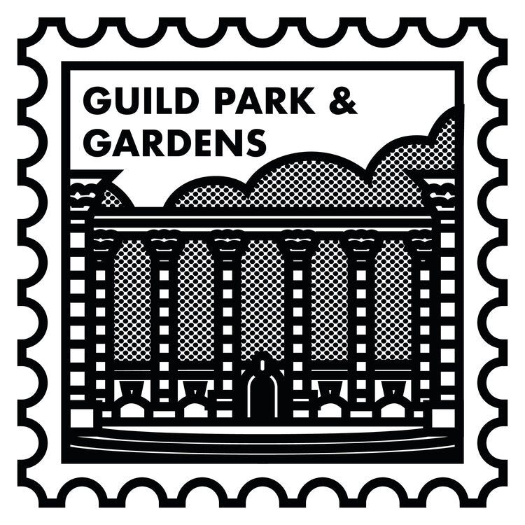 Guild Park & Gardens Screen Print (Neighbourhood Stamps Series)