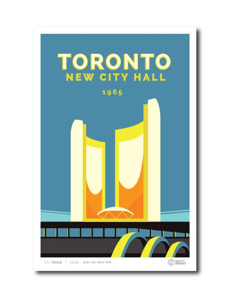 Toronto New City Hall Print