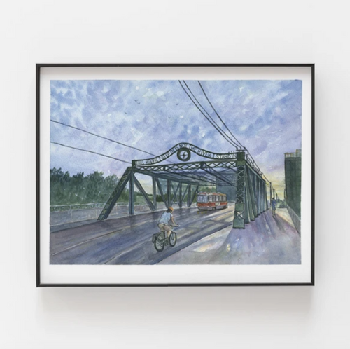 Queen St. Viaduct Art Print