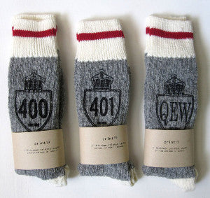 Toronto Highway Socks