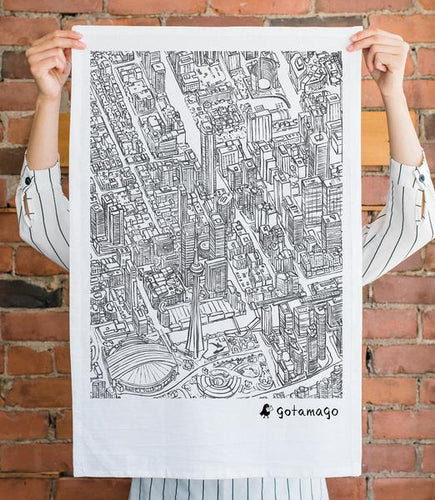 Toronto Lines Tea Towels