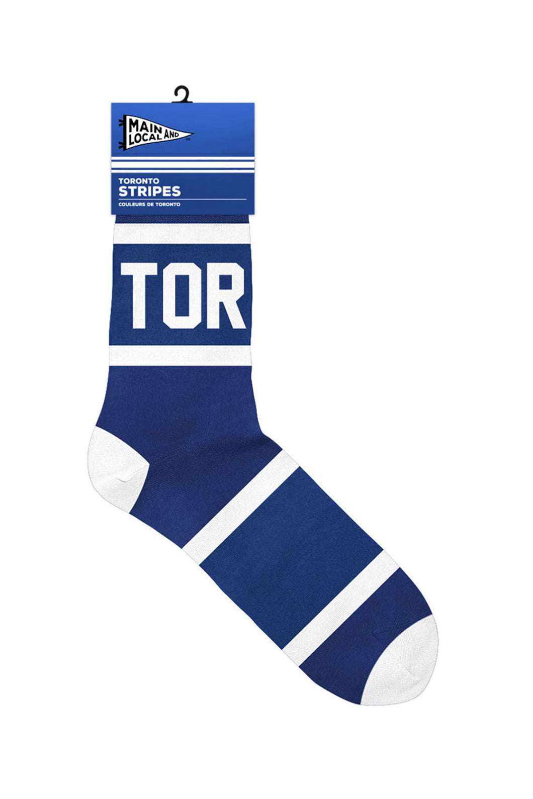 Toronto Stripe Socks