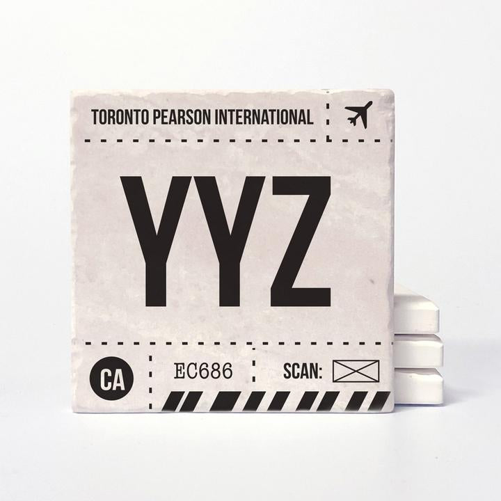 YYZ Ceramic Coaster