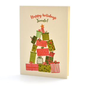 Happy Holidays Toronto! Card