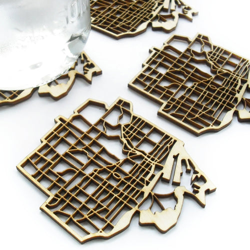Toronto city coasters by National Design Collective