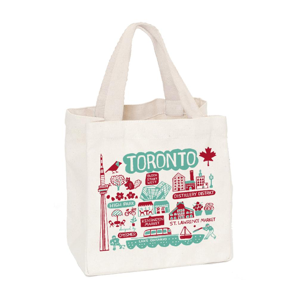 Toronto Illustrated Mini Tote